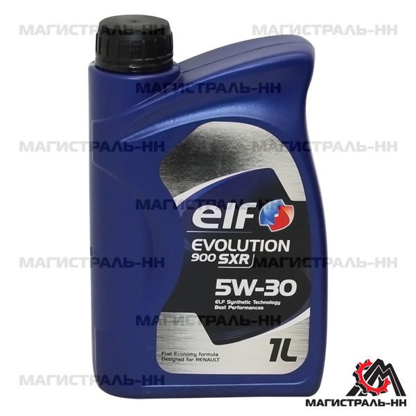 Масло ELF моторное 5W30 EVOLUTION SXR 900 A5/B5 SL/CF 1л (синтетика)